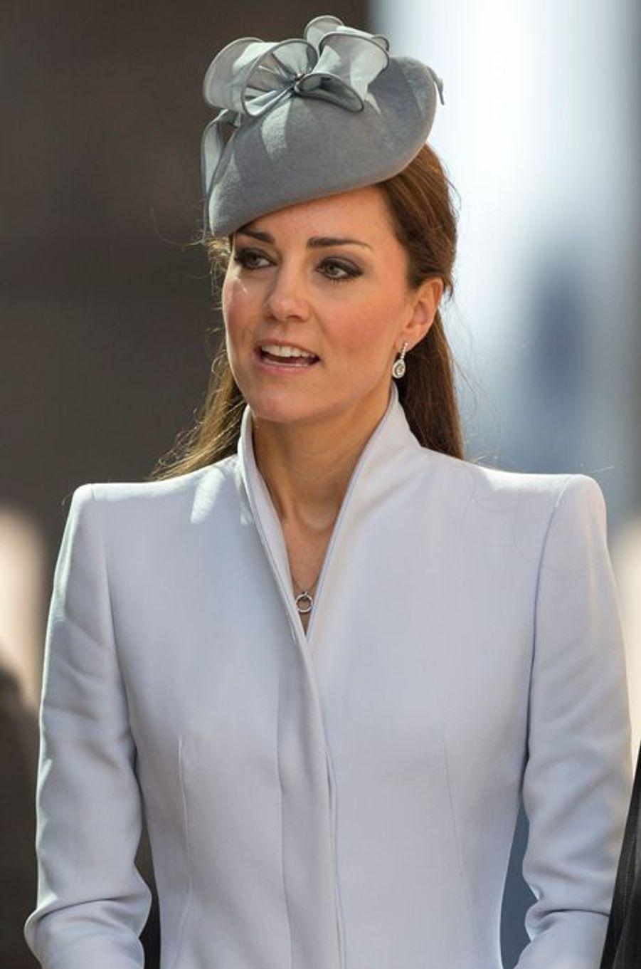 Kate en Alexander McQueen, à Sydney le 20 avril 2014