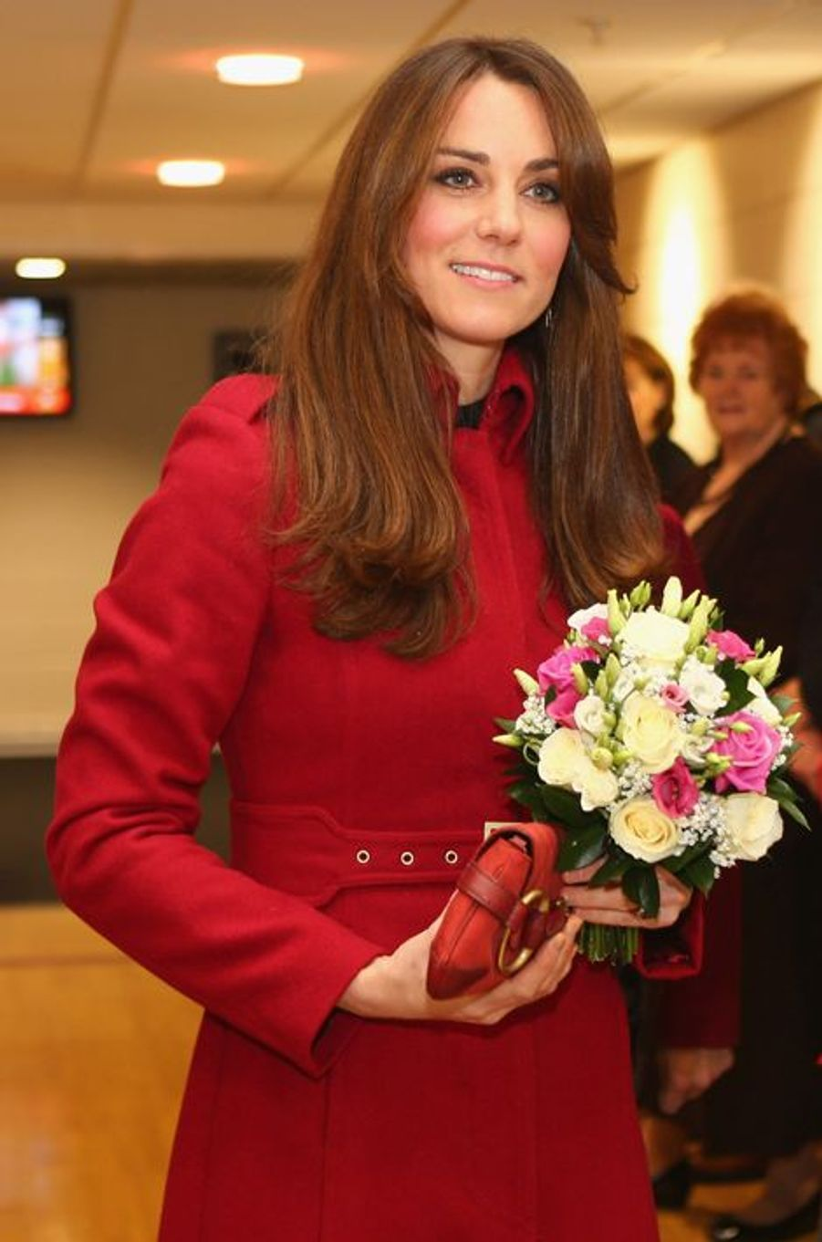 La duchesse de Cambridge Kate, le 24 novembre 2012