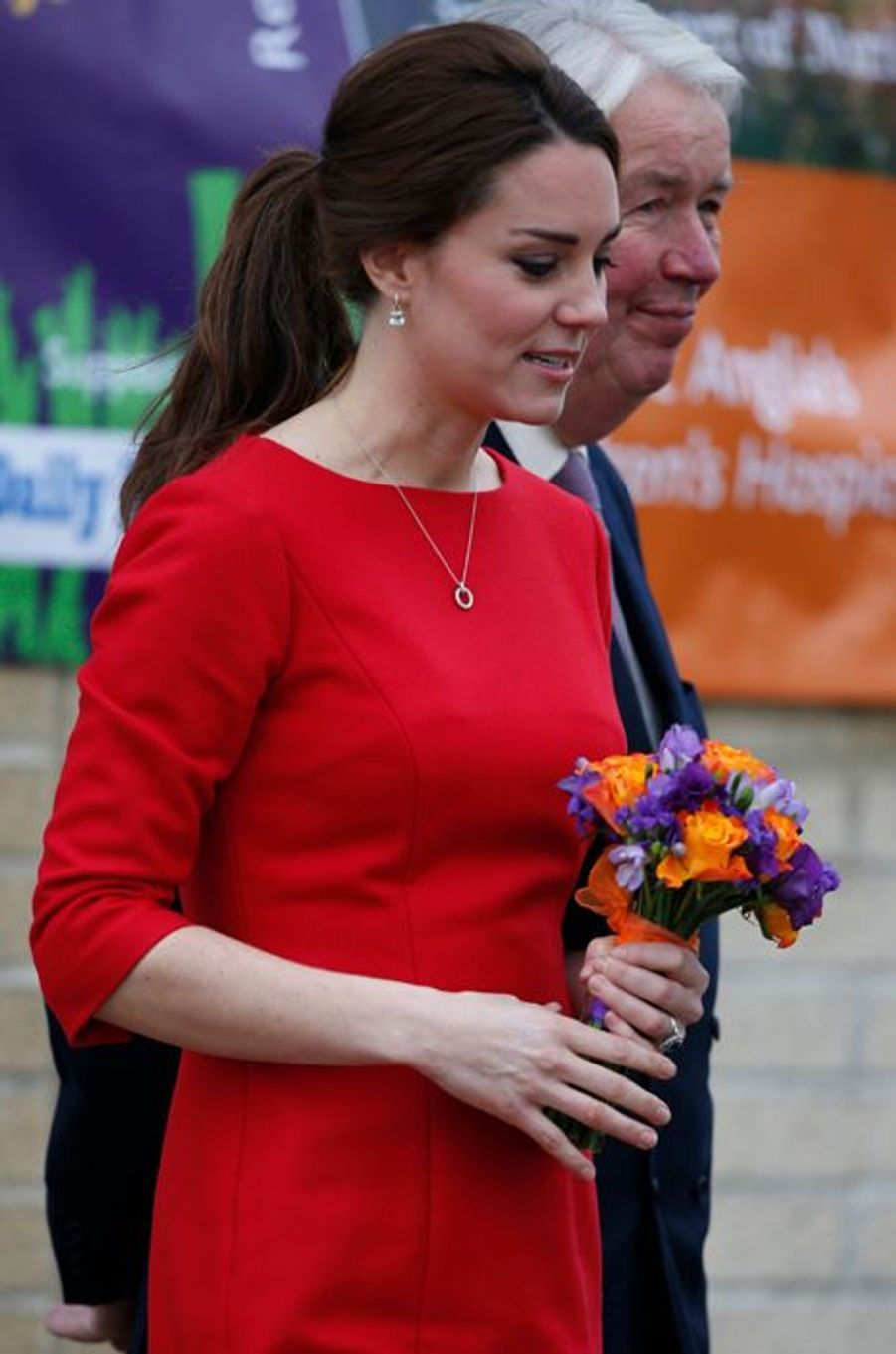 La duchesse de Cambridge Kate, le 25 novembre 2014