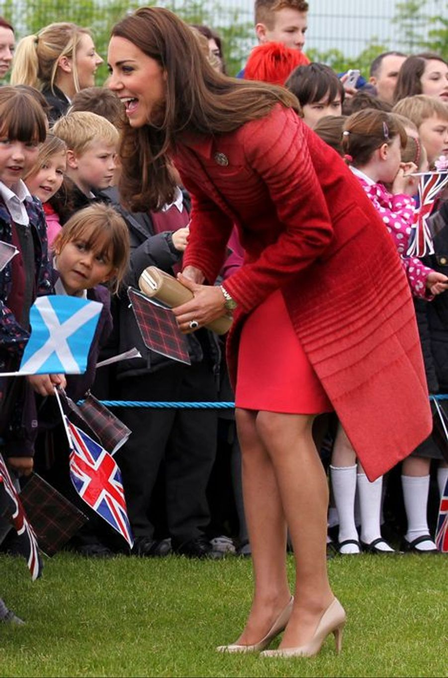 La duchesse de Cambridge Kate, le 29 mai 2014