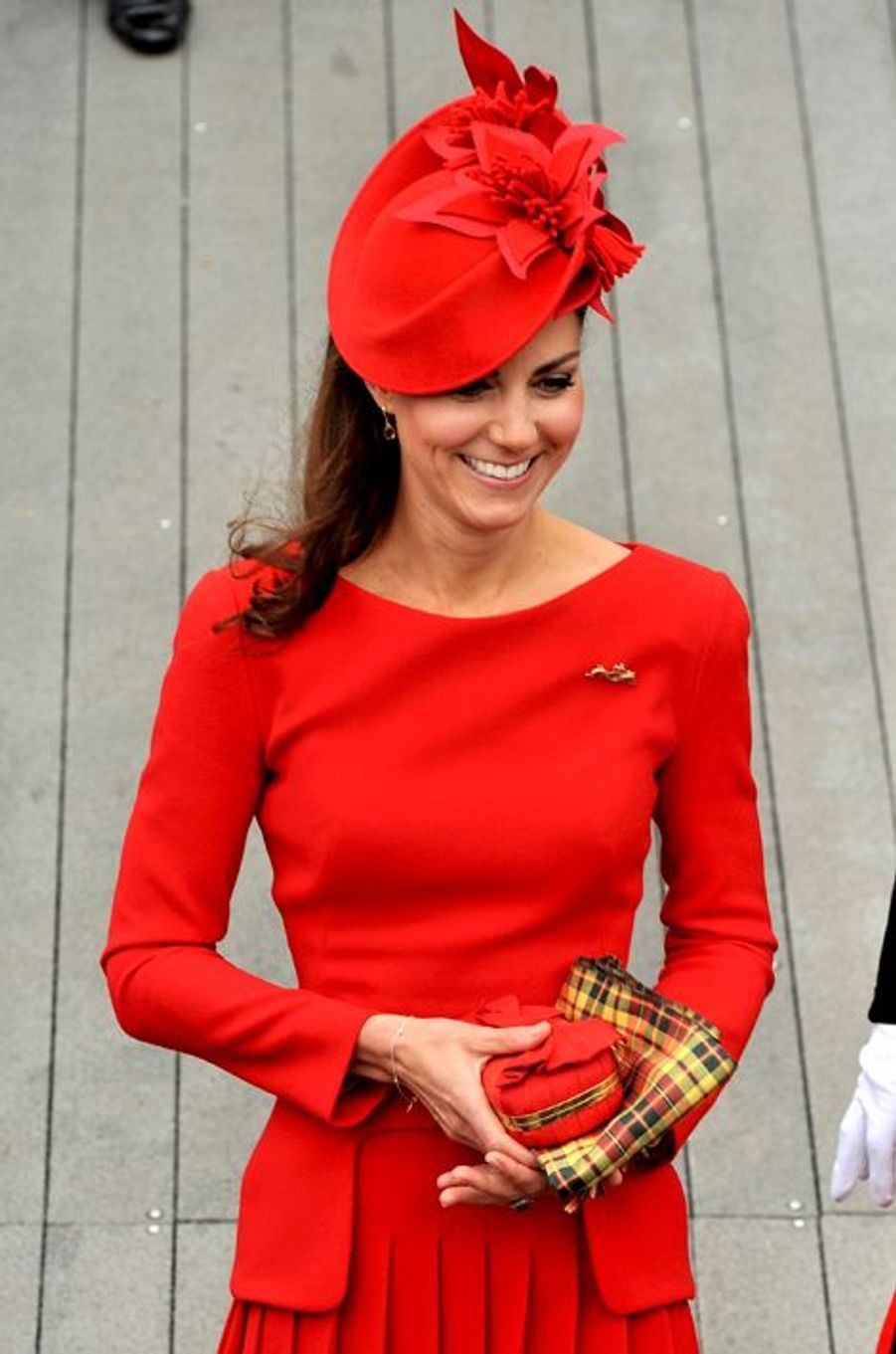 La duchesse de Cambridge Kate, le 3 juin 2012