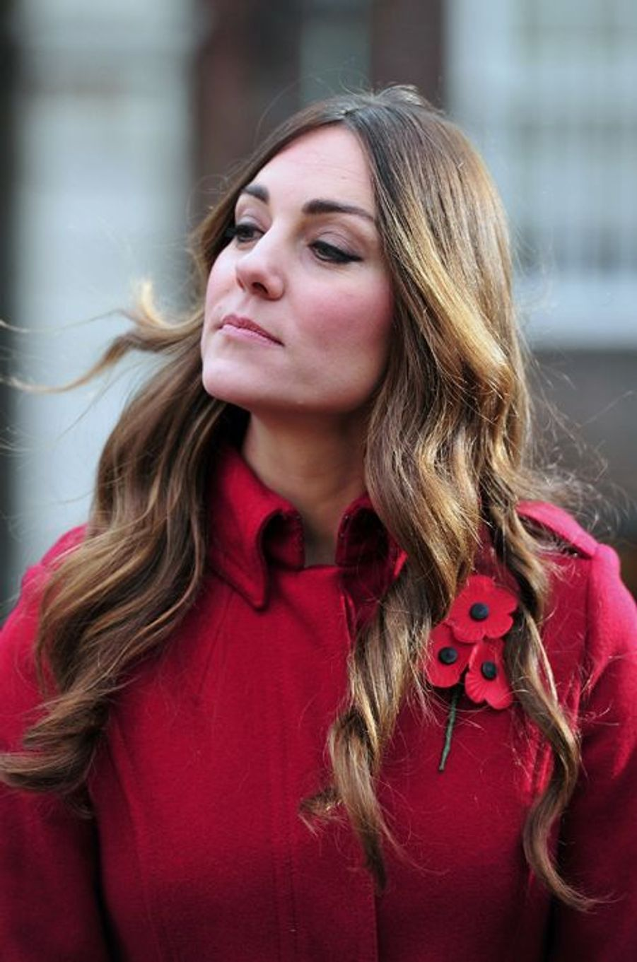 La duchesse de Cambridge Kate, le 7 novembre 2013