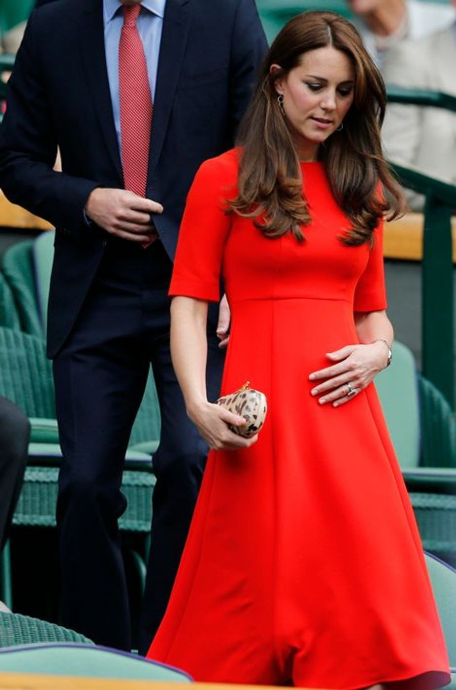 La duchesse de Cambridge Kate, le 8 juillet 2015