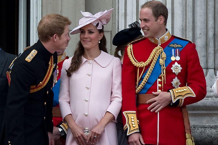 La duchesse Kate avec le prince William le 15 juin 2013