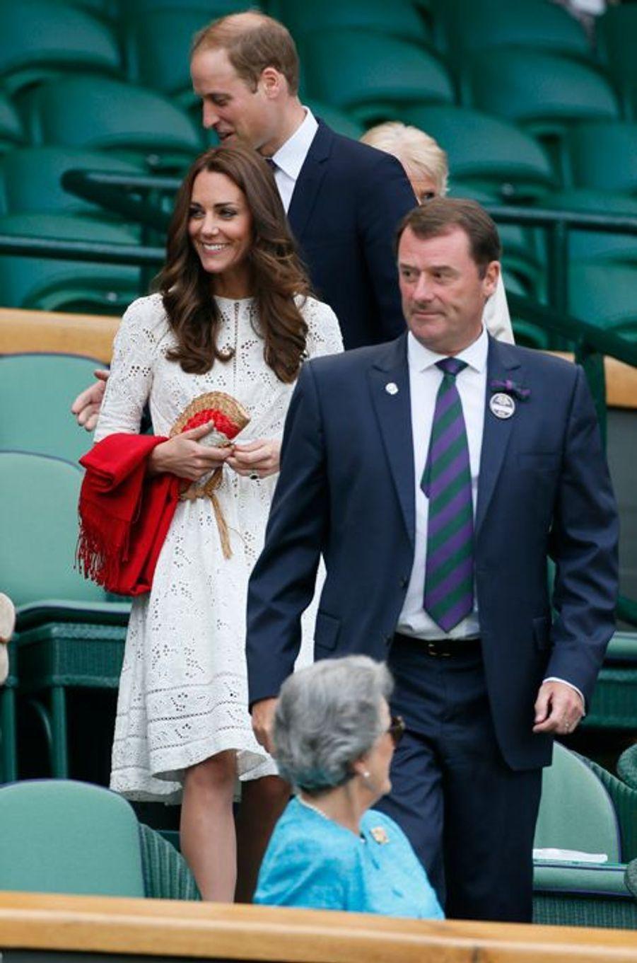 La duchesse Kate avec le prince William le 2 juillet 2014
