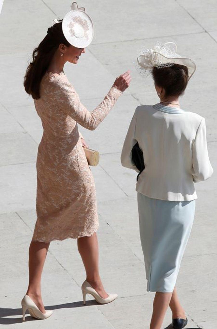 La duchesse Kate le 10 juin 2014