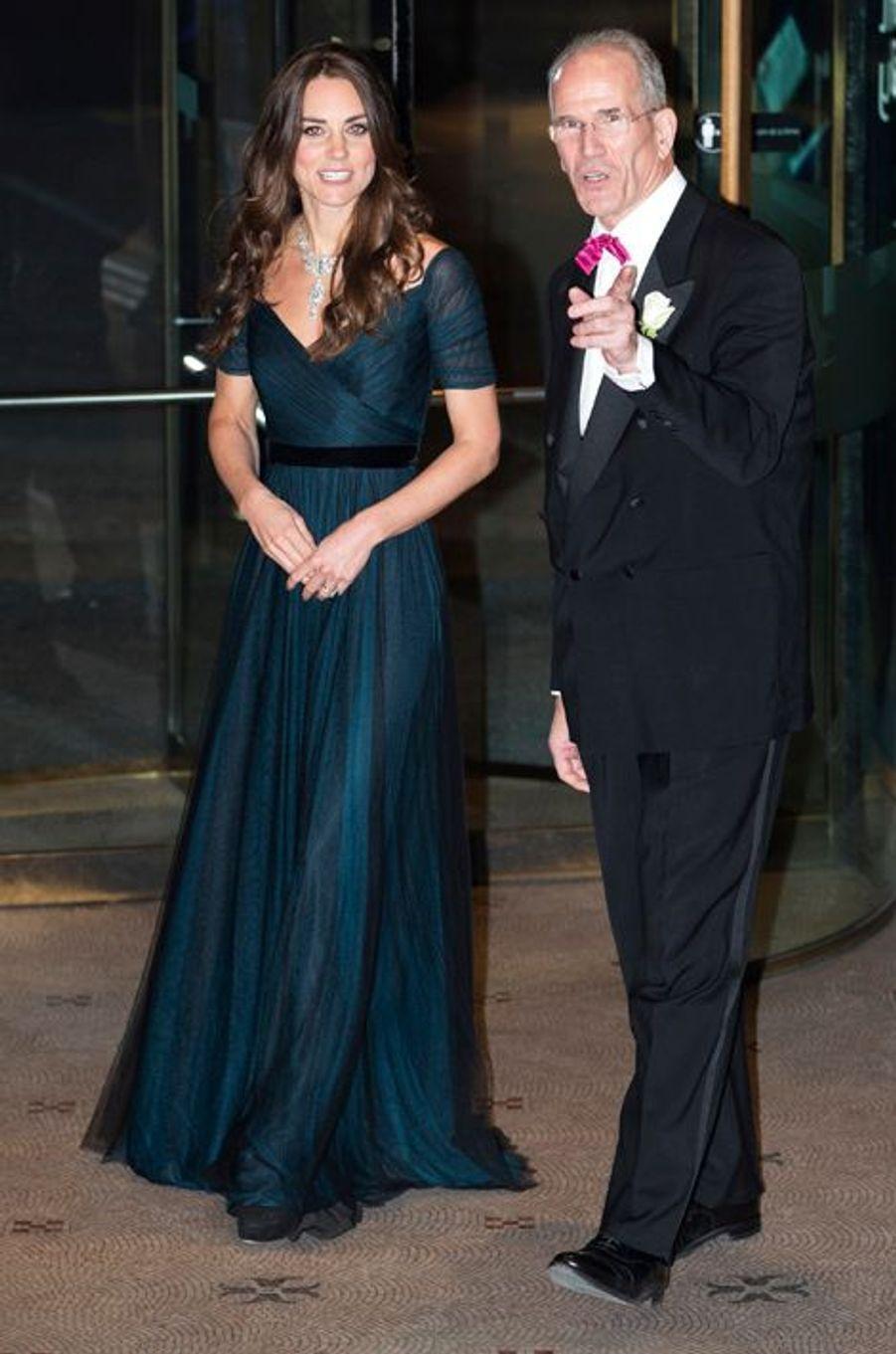 La duchesse Kate le 11 février 2014