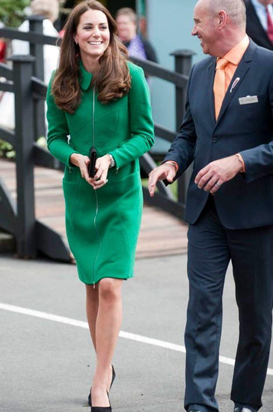 La duchesse Kate le 12 avril 2014