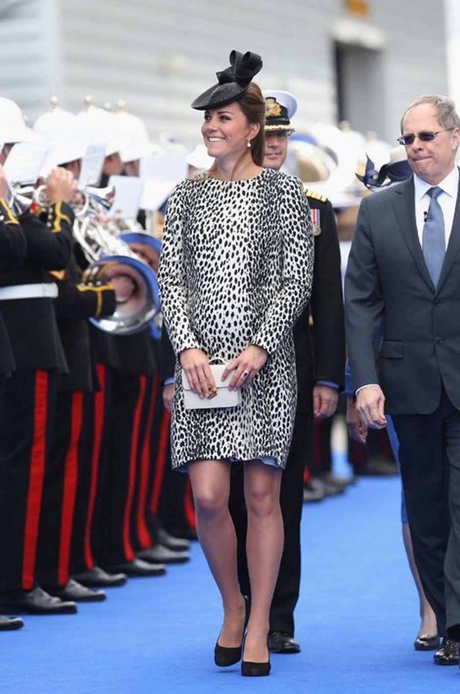 La duchesse Kate le 13 juin 2013