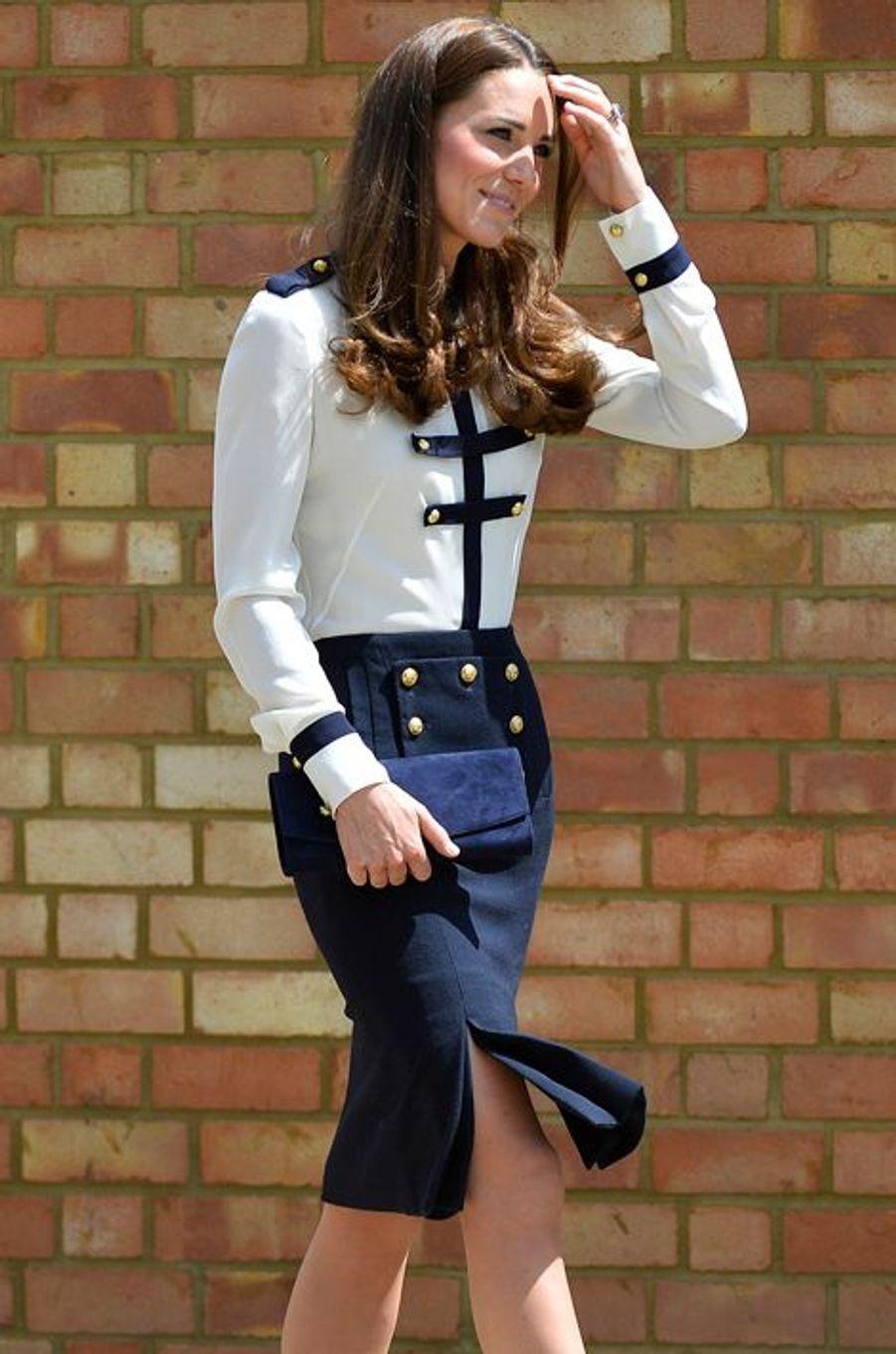La duchesse Kate le 18 juin 2014