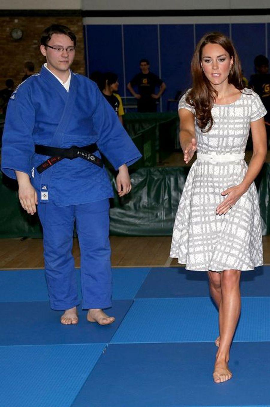 La duchesse Kate le 26 février 2012