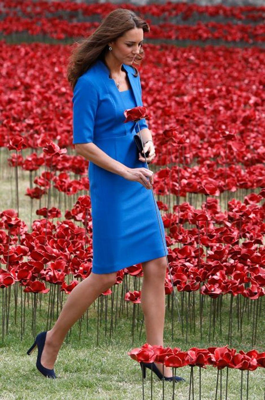 La duchesse Kate le 5 août 2014