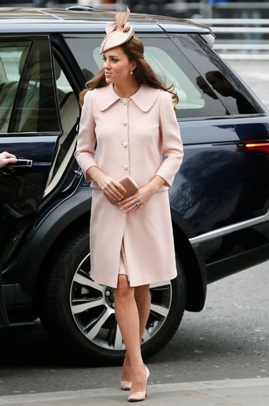 La duchesse Kate le 9 mars 2015