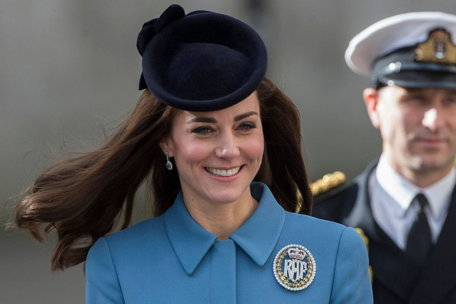 La duchesse de Cambridge, née Kate Middleton, le 7 février 2016