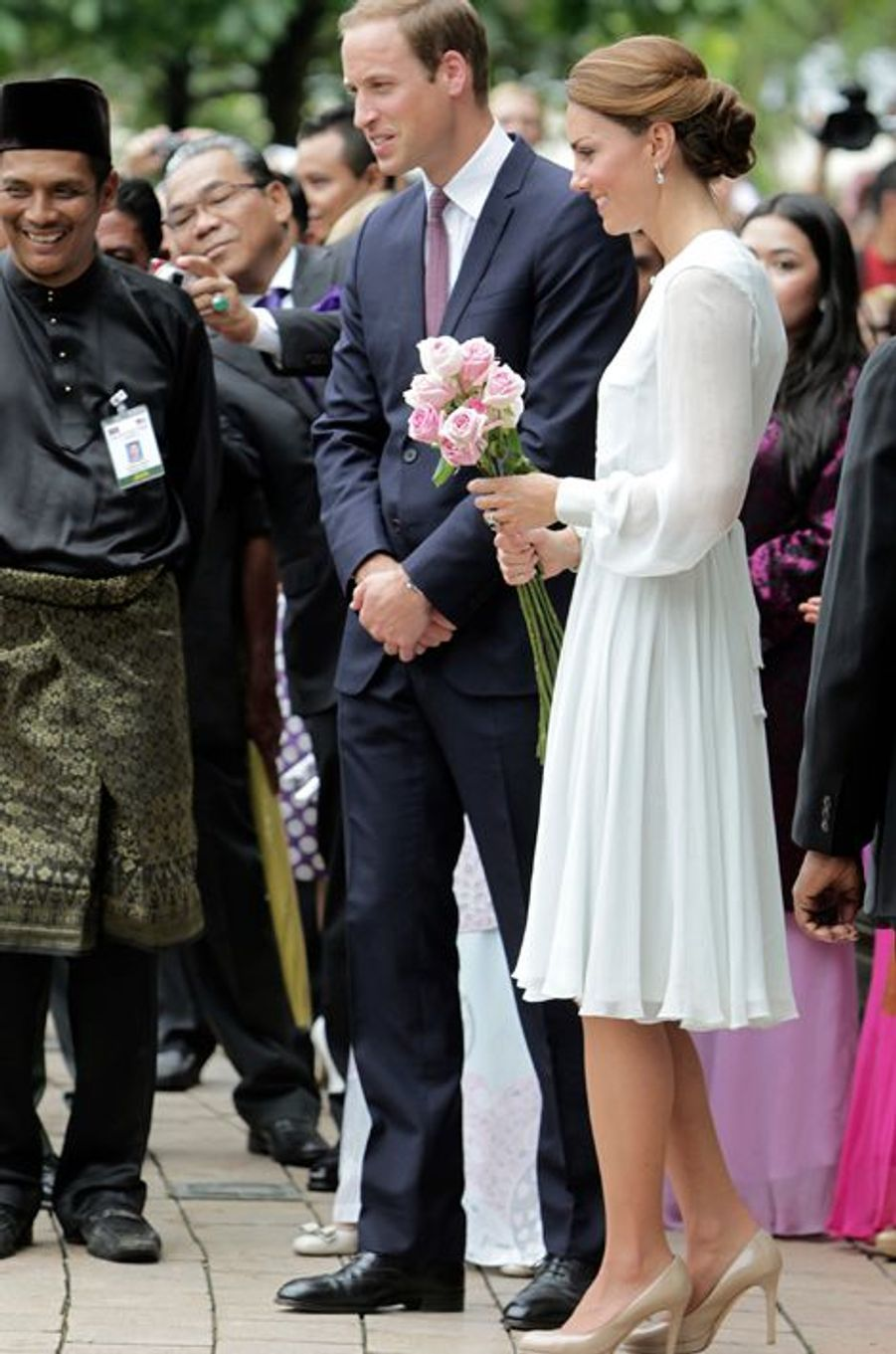 La duchesse Catherine de Cambridge en Beulah London, le 14 septembre 2012