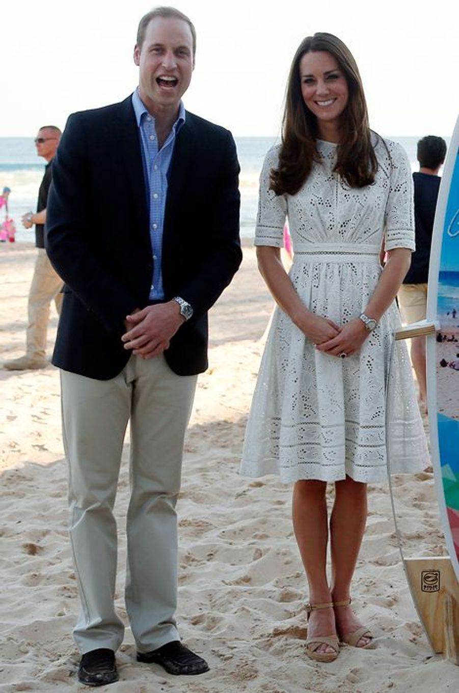 La duchesse Catherine de Cambridge en Zimmermann, le 18 avril 2014