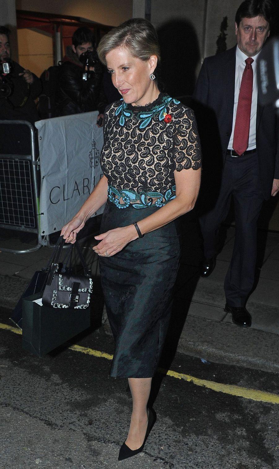 La comtesse Sophie de Wessex, le 6 novembre 2015