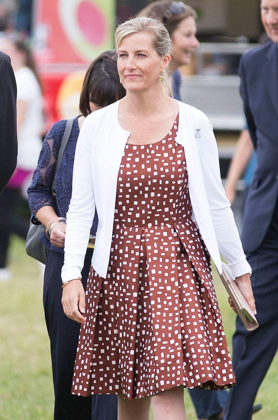 La comtesse Sophie de Wessex, le 26 juillet 2016