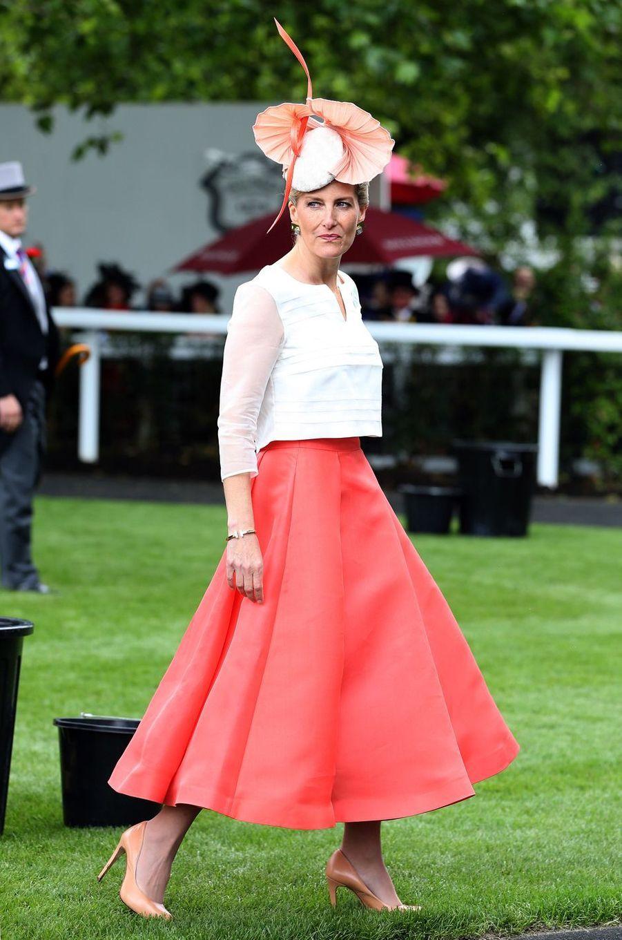 La comtesse Sophie de Wessex, le 16 juin 2016