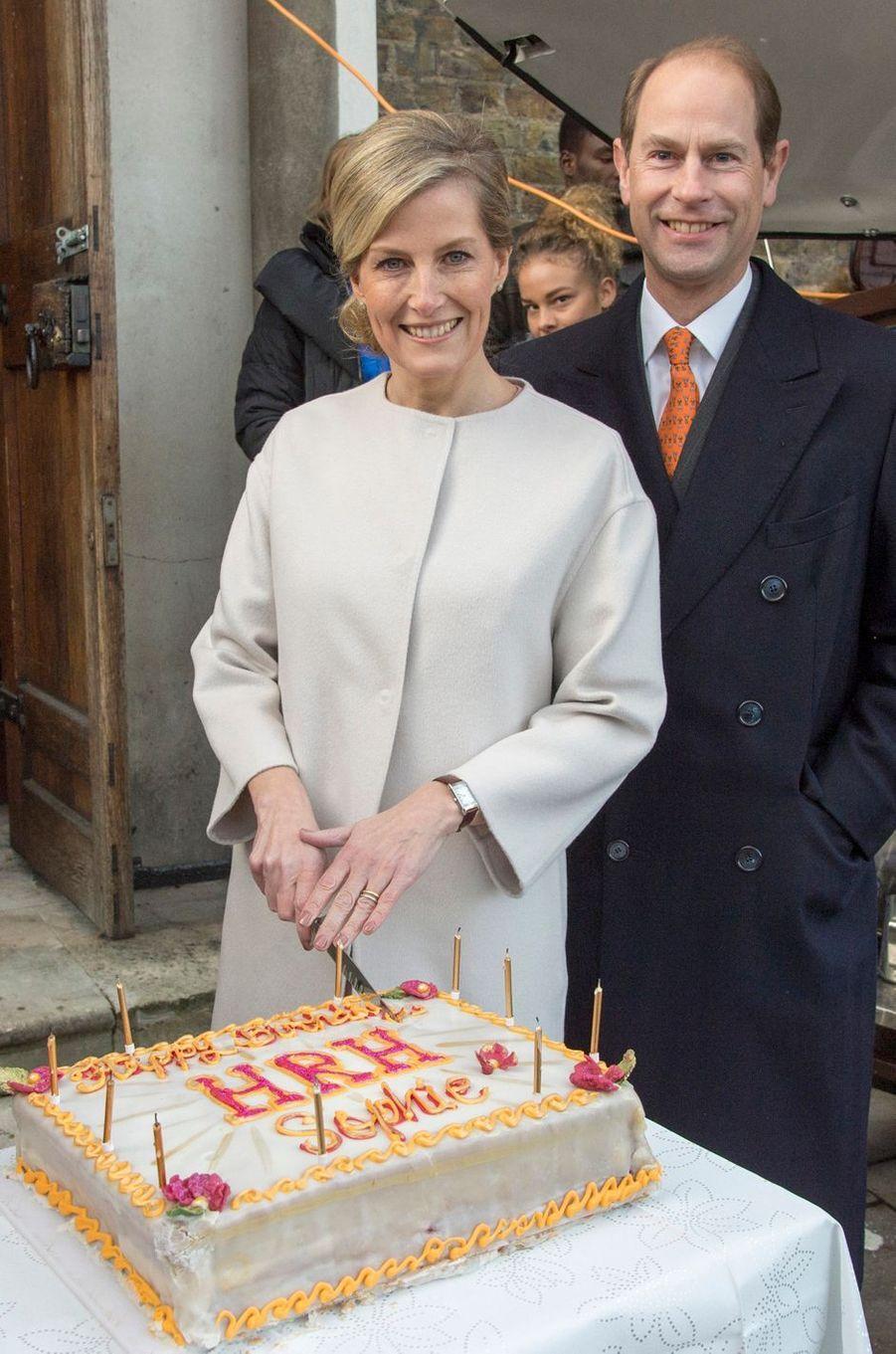 La comtesse Sophie de Wessex, le 20 janvier 2015