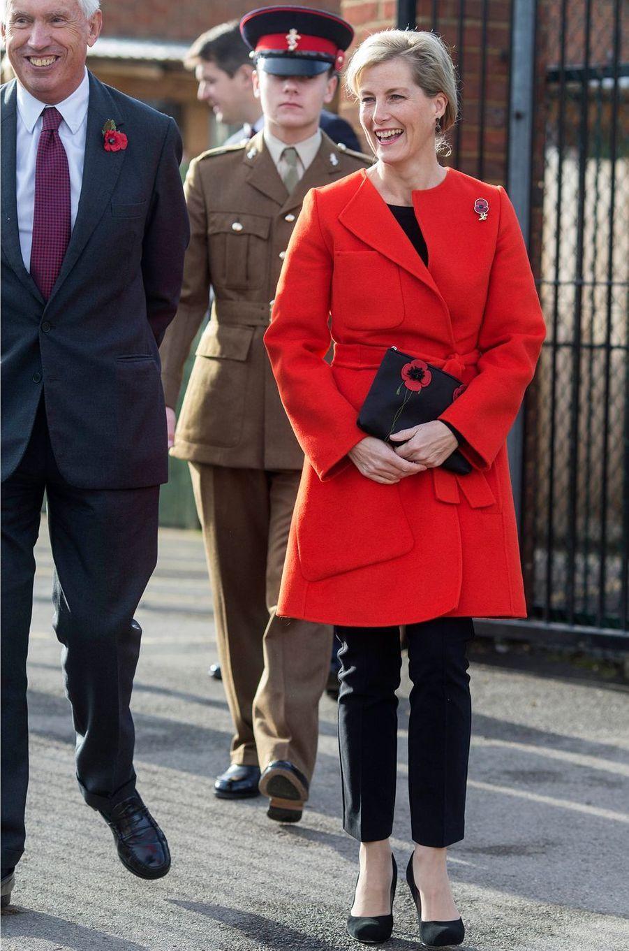 La comtesse Sophie de Wessex, le 10 novembre 2016