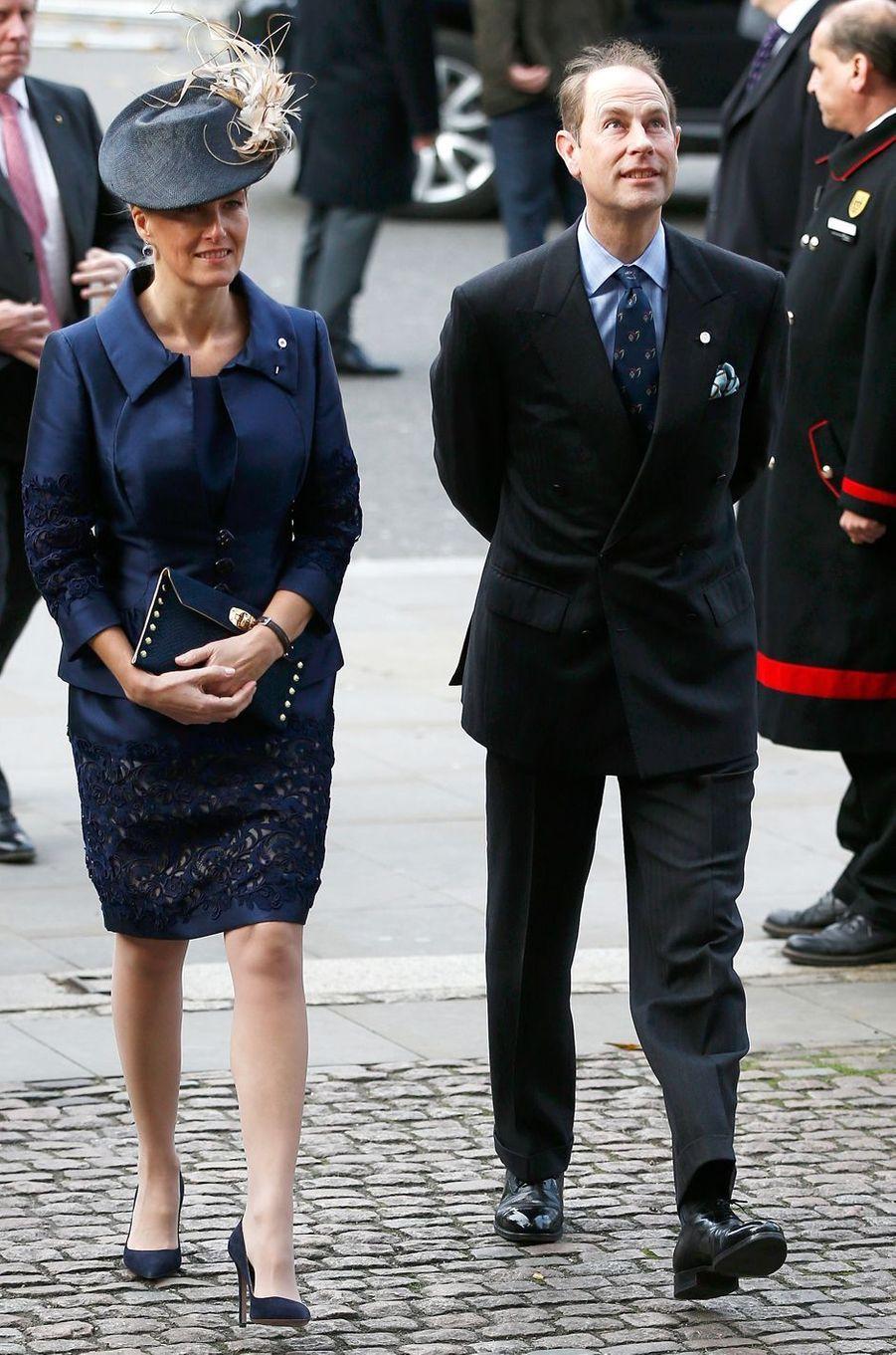 La comtesse Sophie de Wessex, le 24 novembre 2016