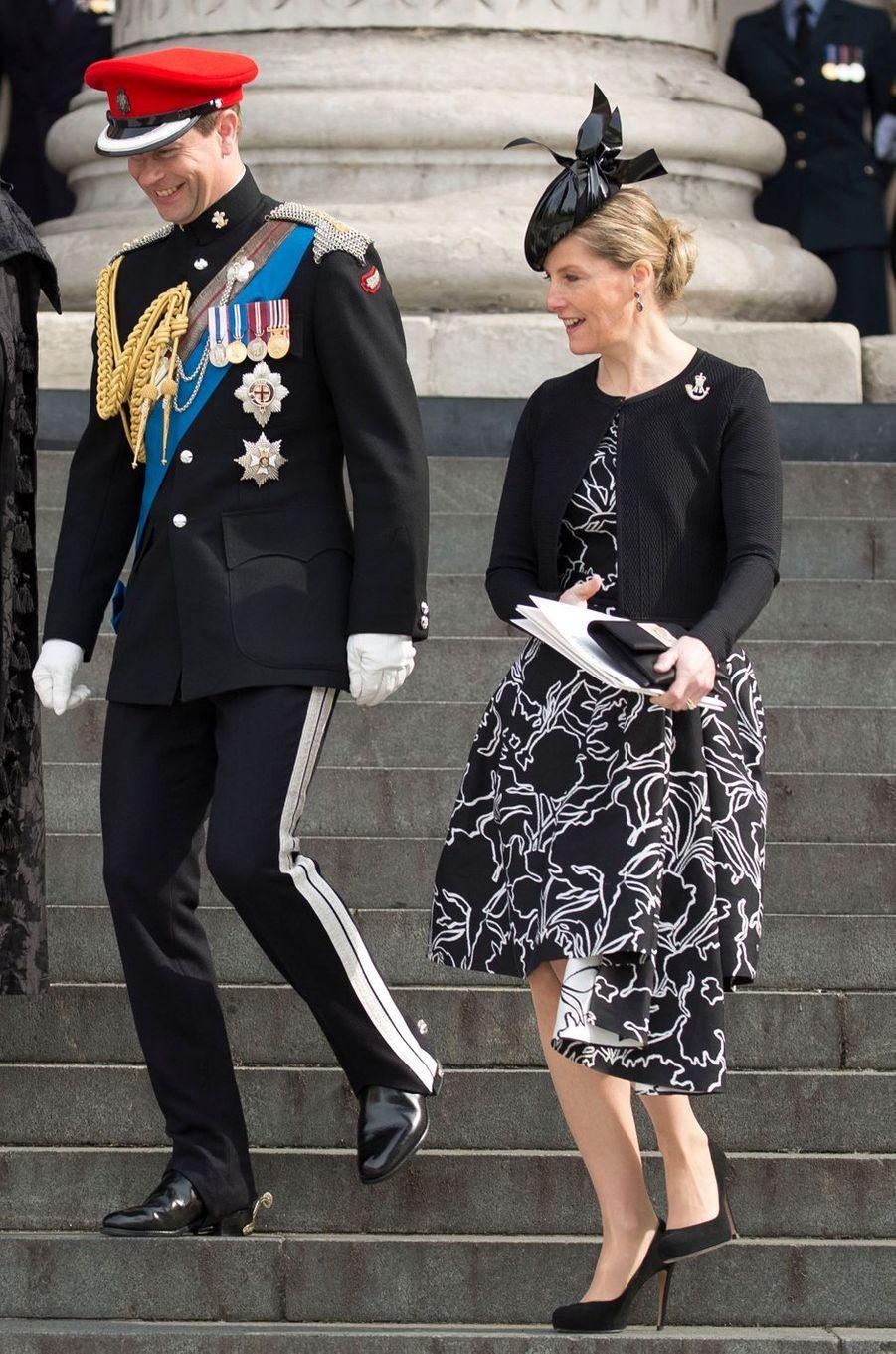 La comtesse Sophie de Wessex, le 13 mars 2015