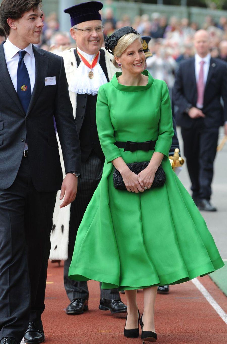La comtesse Sophie de Wessex, le 9 mai 2015