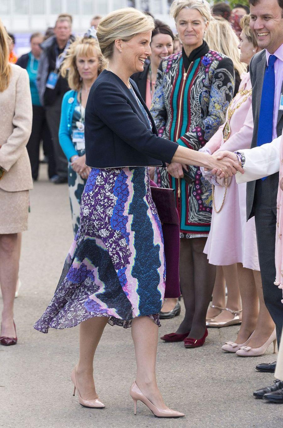 La comtesse Sophie de Wessex, le 18 mai 2015