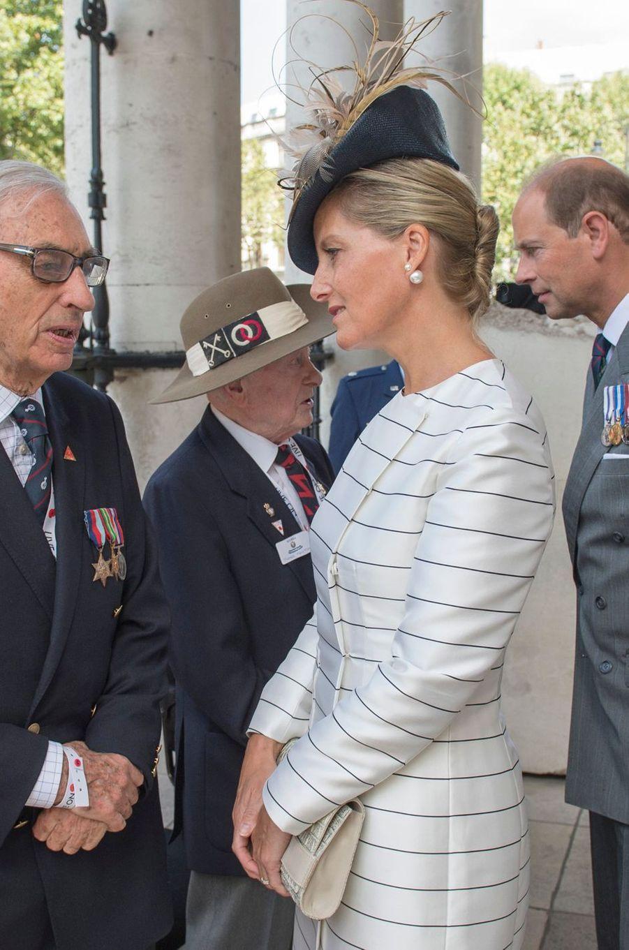 La comtesse Sophie de Wessex, le 15 août 2015