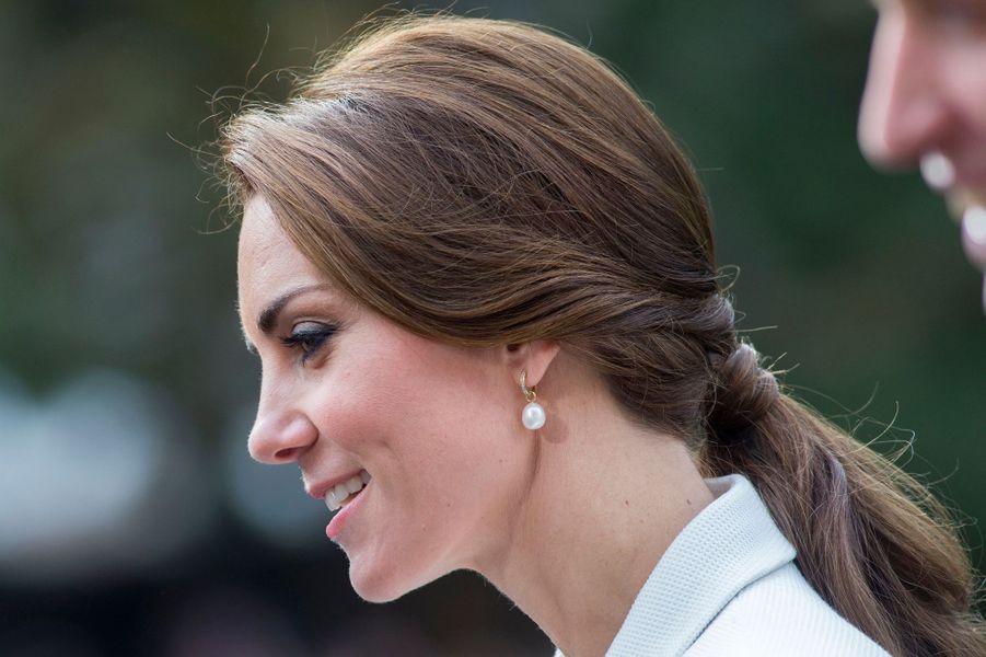 La duchesse Catherine de Cambridge au Canada, le 1er octobre 2016