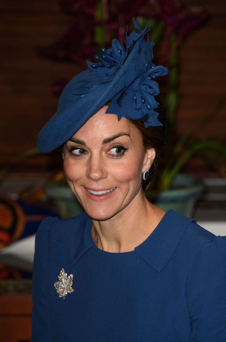 La duchesse Catherine de Cambridge au Canada, le 24 septembre 2016