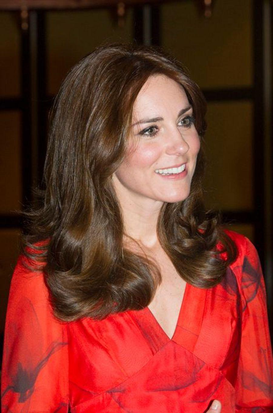 La duchesse Catherine de Cambridge en Beulah London, le 15 avril 2016