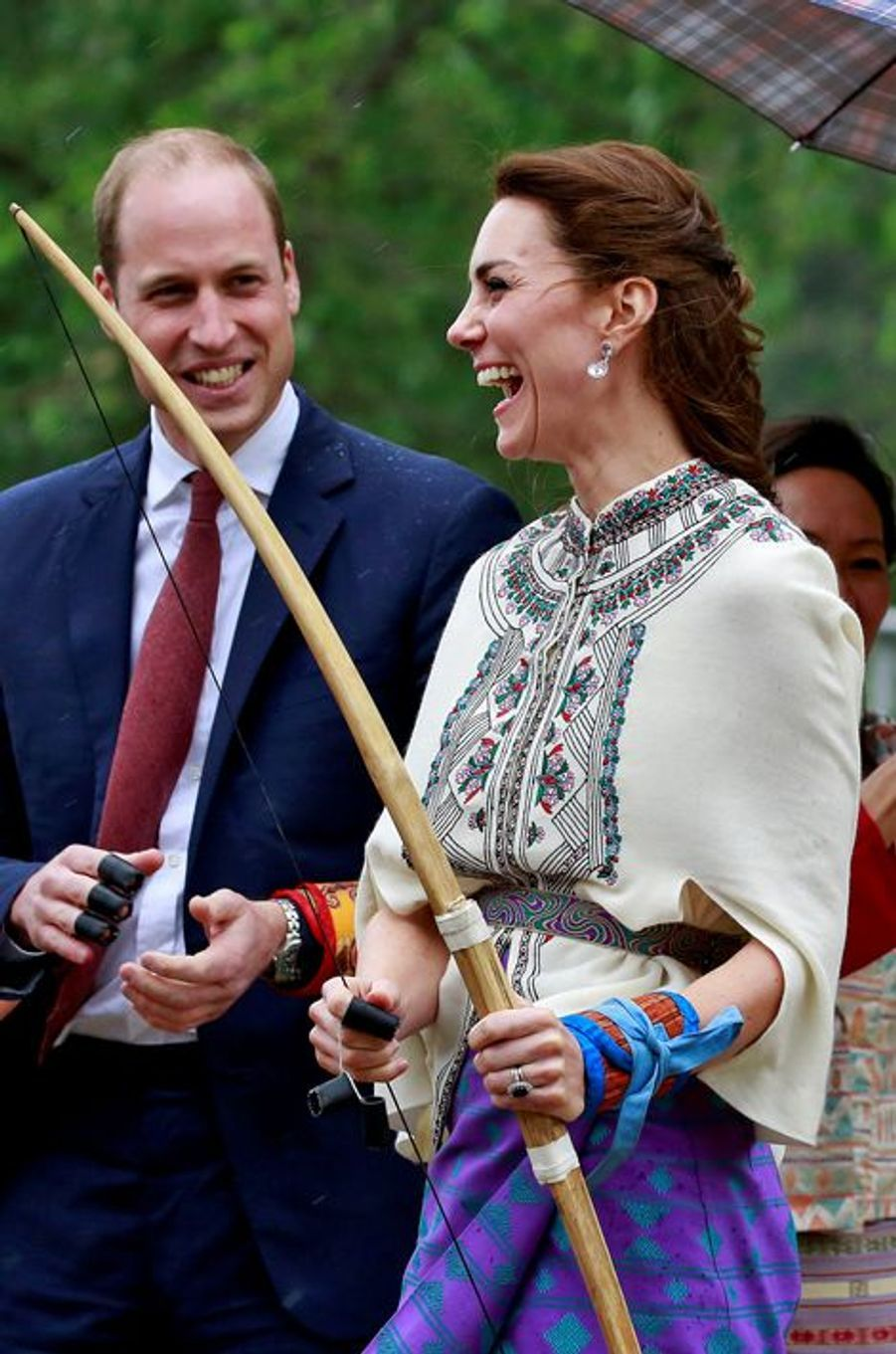 La duchesse Catherine de Cambridge, le 14 avril 2016