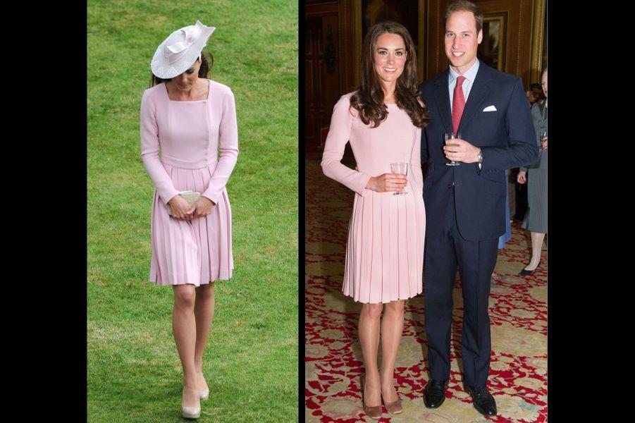 A Buckingham, le 18 mai 2012 ; et le 30 mai 2012