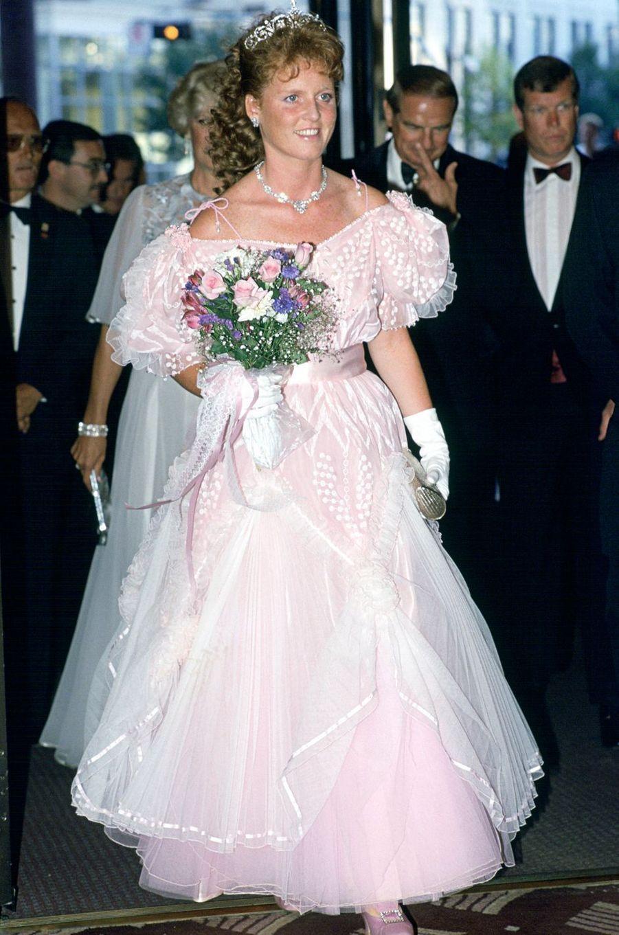 Sarah Ferguson, le 24 juillet 1987