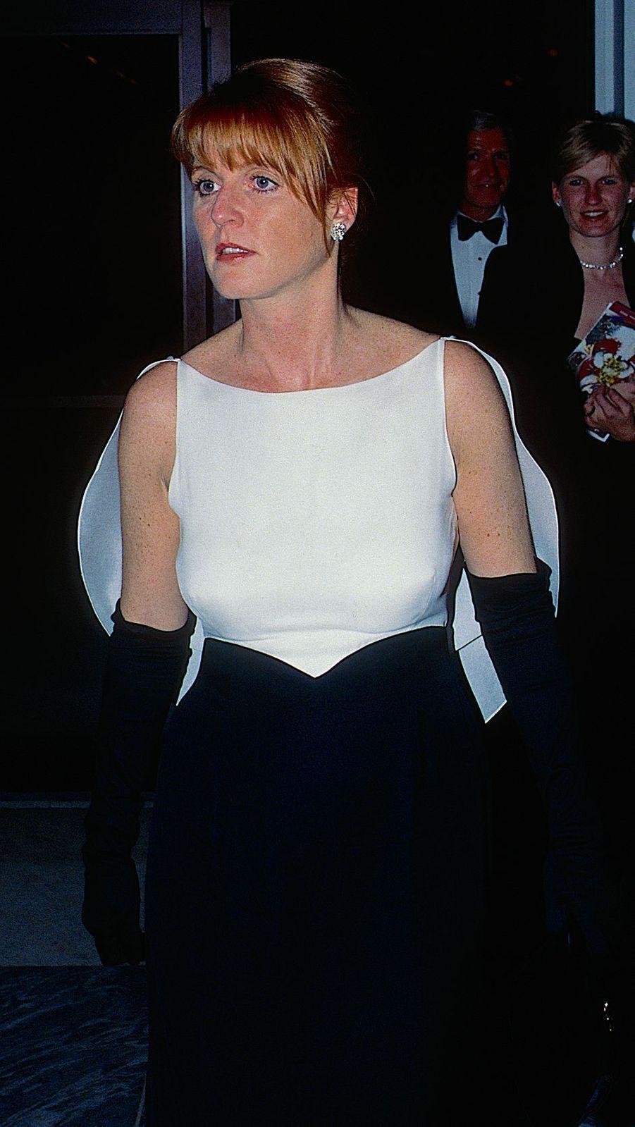 Sarah Ferguson, en décembre 1995