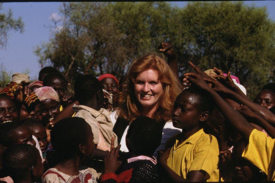 Sarah Ferguson, le 5 octobre 1994