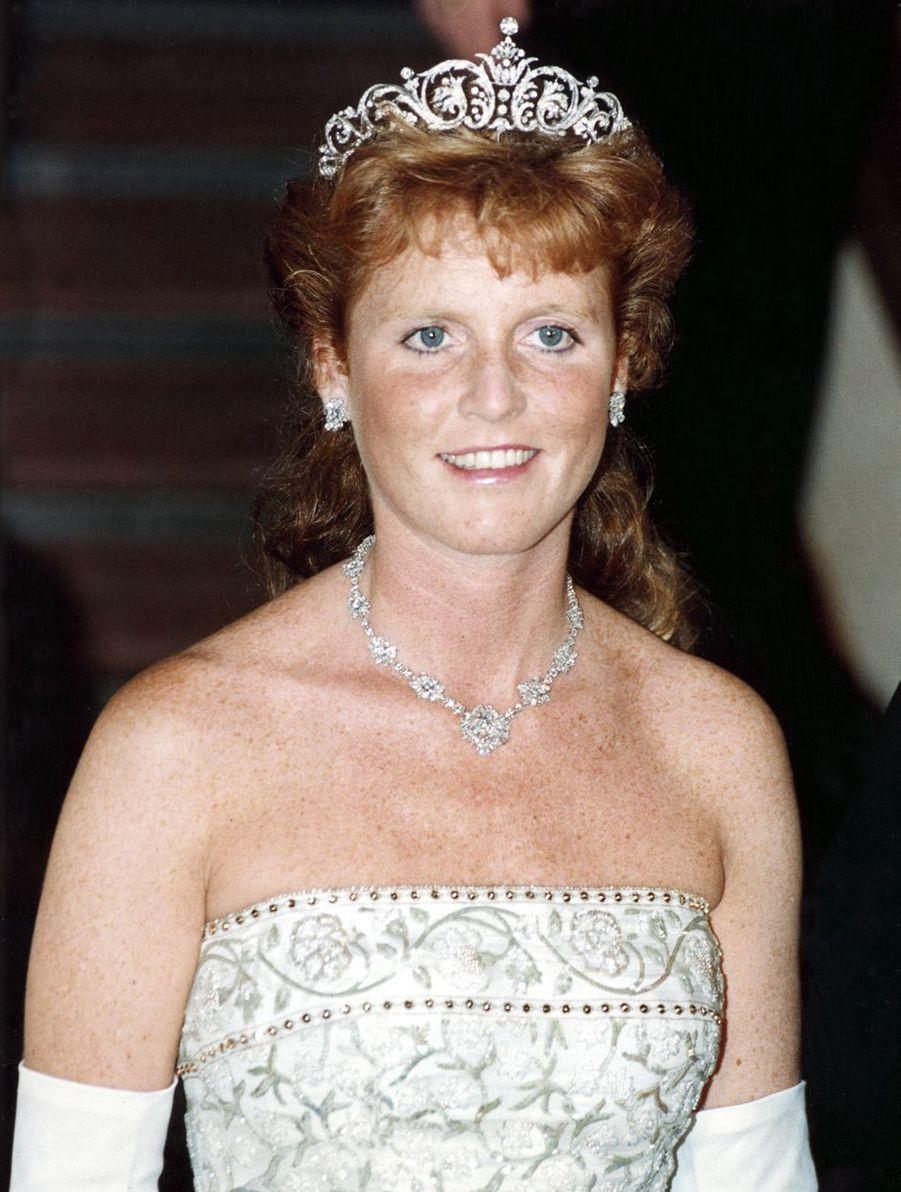 Sarah Ferguson, le 31 juillet 1989