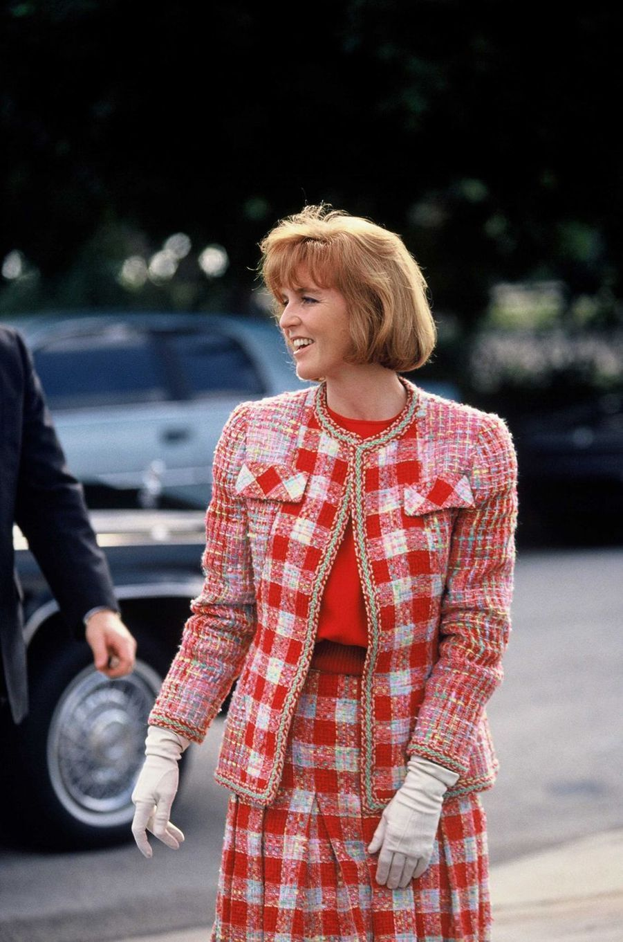 Sarah Ferguson, le 18 mars 1992