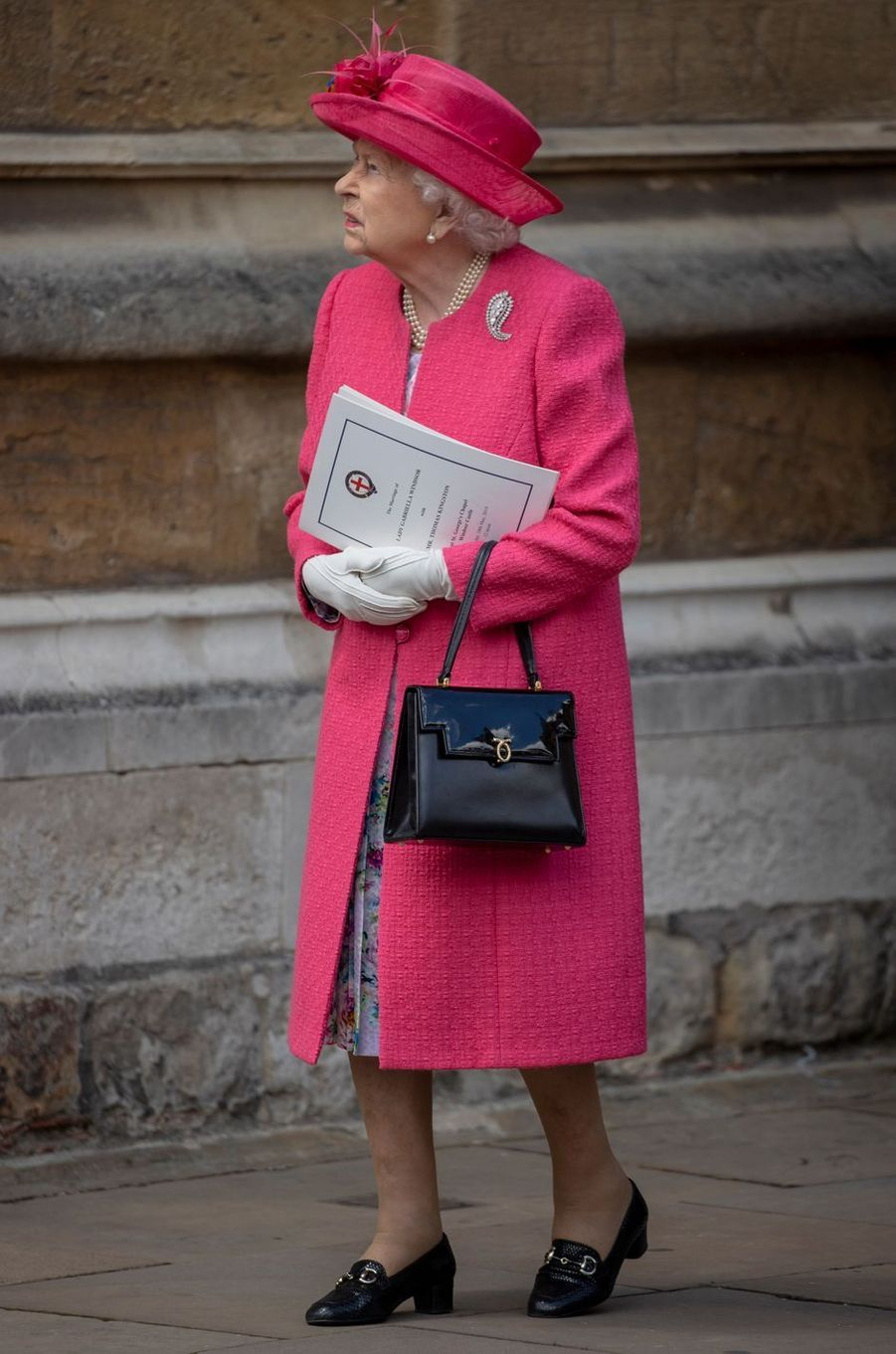 La reine Elizabeth II à Windsor le 18 mai 2019