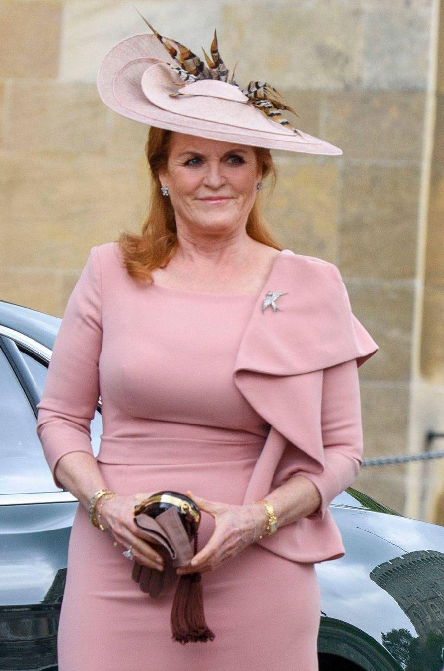 Sarah Ferguson, duchesse d'York, à Windsor le 18 mai 2019