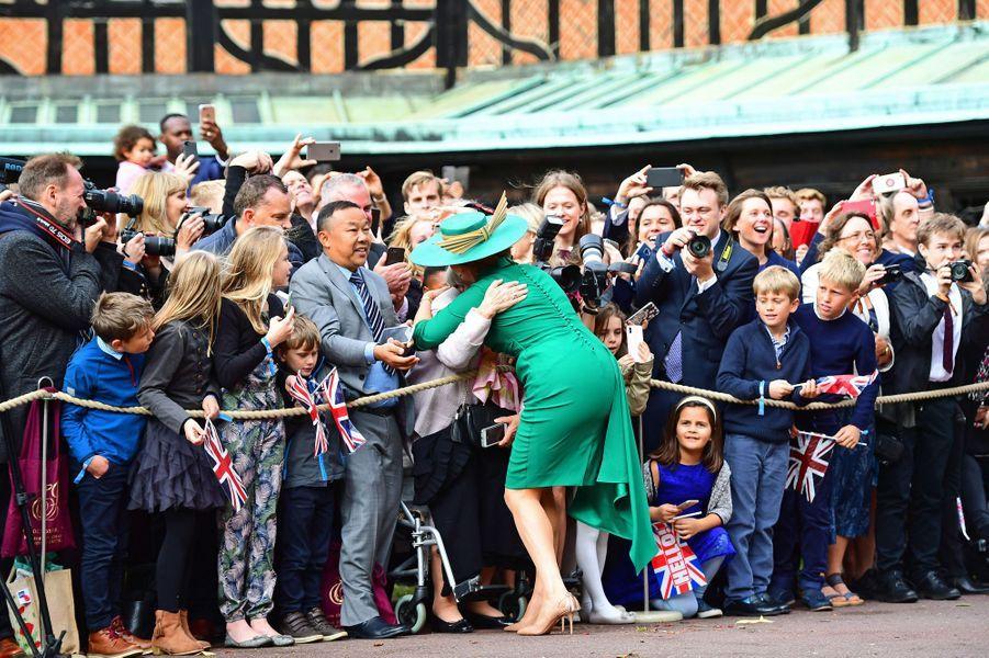 La duchesse d'York, à Windsor, le 12 octobre 2018