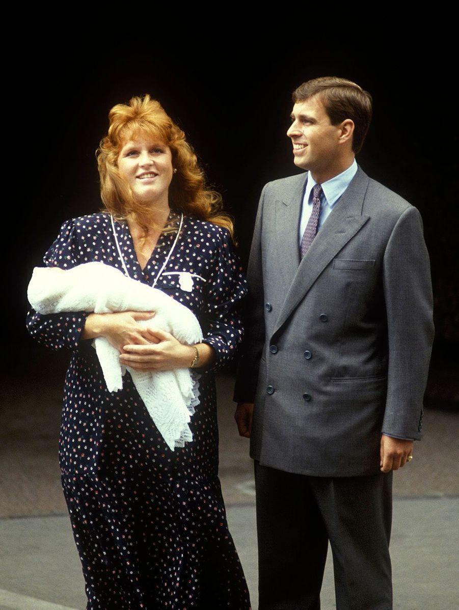 """Andrew, subjugué, dit comme tous les papas heureux : """"C'est le plus beau bébé du monde !"""""""
