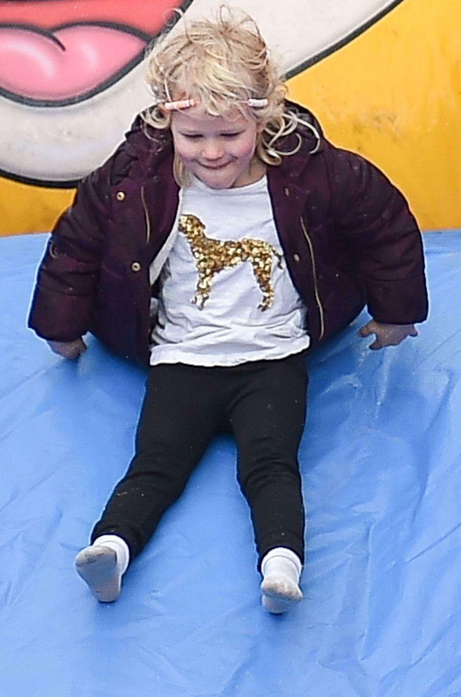 Isla Phillips à Didmarton, le 4 mars 2017