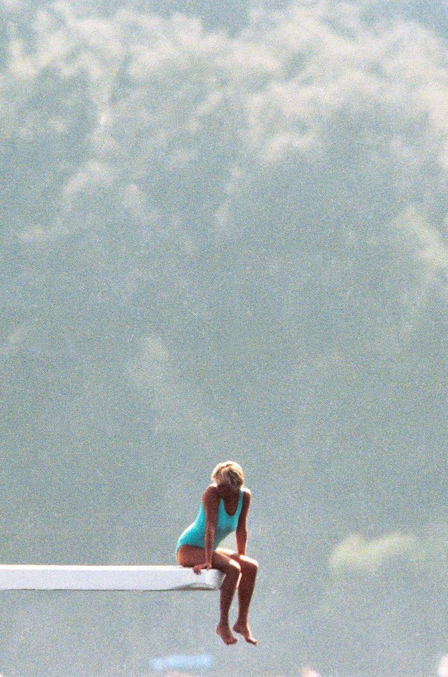 Lady Diana à Portofino le 24 août 1997