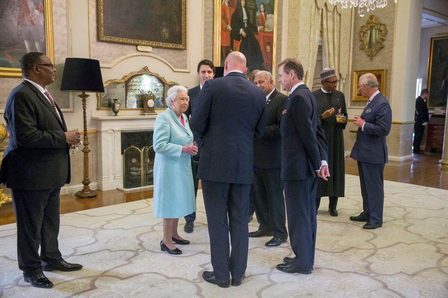La reine Elizabeth II et le prince Charles à Malte, le 27 novembre 2015