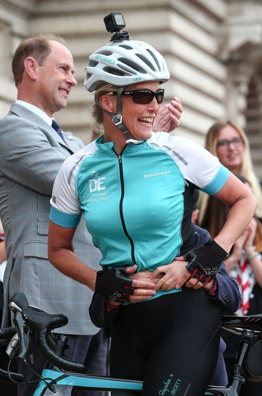 La comtesse Sophie de Wessex à Londres, le 25 septembre 2016