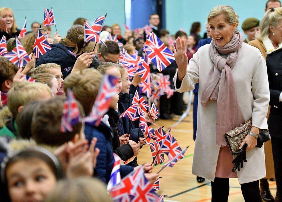La comtesse Sophie de Wessex, le 20 novembre 2018 à Northampton