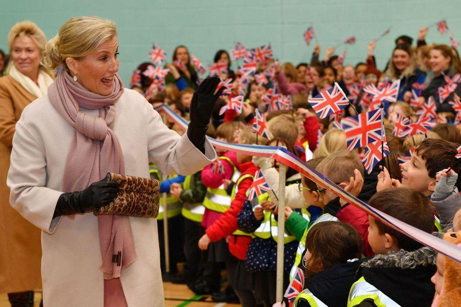 La comtesse Sophie de Wessex à Northampton, le 20 novembre 2018